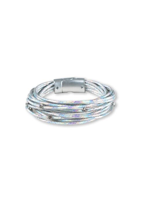 Women's Magnetic Bracelet, WINTER WHITE, hi-res