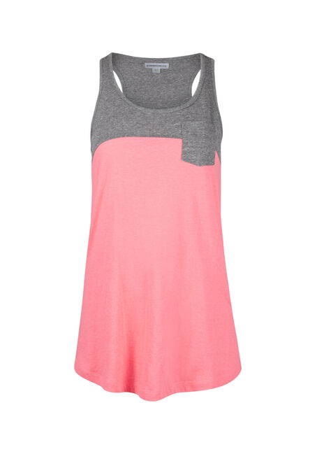 Ladies' Colour Block Tank