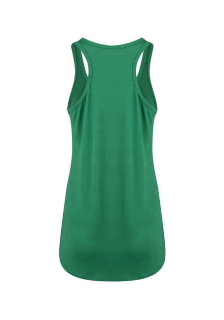 Ladies' Irish For A Day Racerback Tank, KELLY GREEN, hi-res