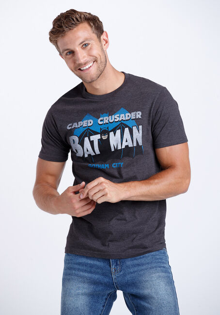 Men's Batman - Caped Crusader Tee
