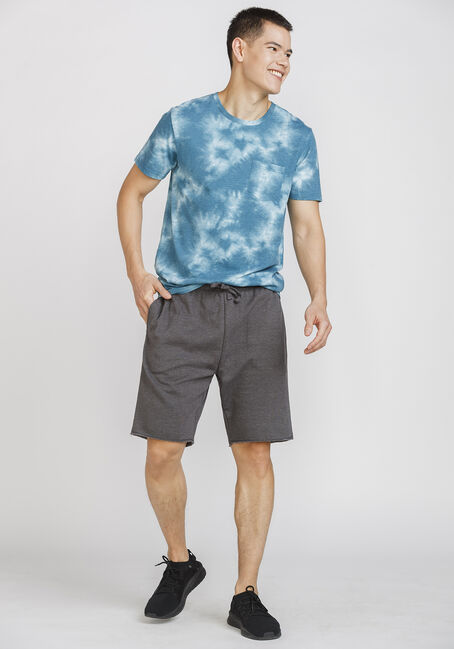 Men's Vintage Tie Dye Crew Neck Tee, BLUE MOON, hi-res