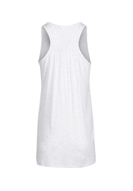 Ladies' Daily Workout Tank, WHITE, hi-res