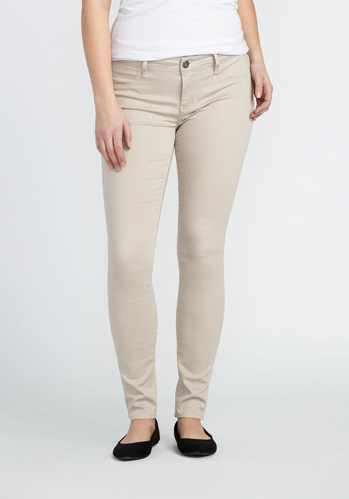 Ladies' Skinny Super Stretch Pant, STONE, hi-res