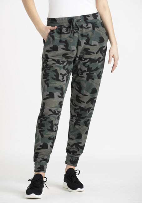 Women's Thermal Camo Jogger