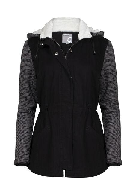 Women's Hooded Utility Jacket