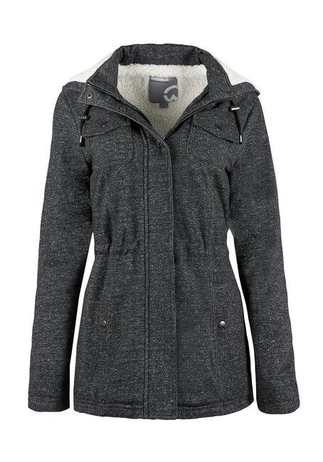 Ladies' Sherpa Lined Anorak Jacket