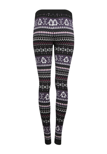Ladies' Penguin Legging, PURPLE, hi-res
