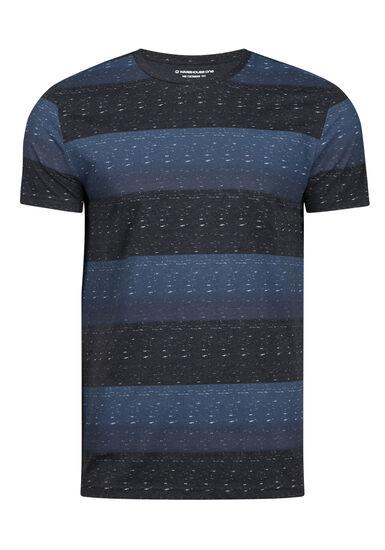 Men's Everyday Striped Tee, MIDNIGHT NAVY, hi-res