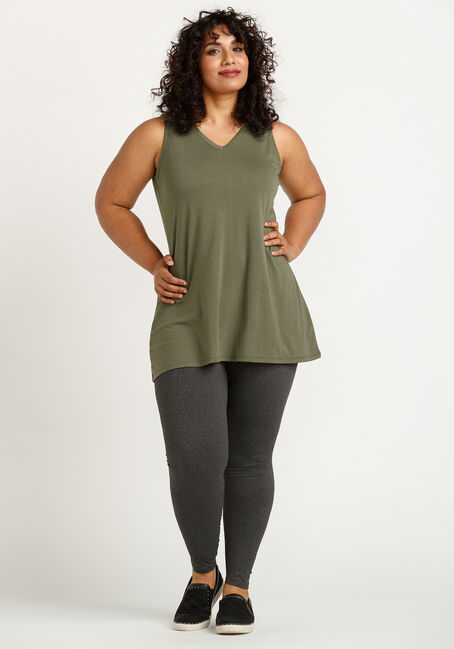 Women's Legging Tank, MOSS, hi-res