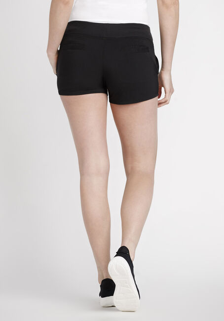 Women's Shadow Stripe Athletic Short, BLACK, hi-res