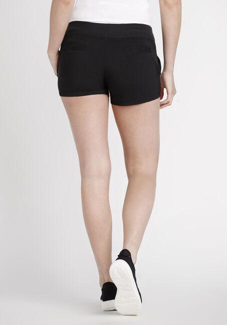 Women's Shadow Stripe Athletic Short, BLACK, hi-res