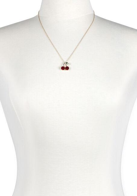 Women's Cherries Necklace