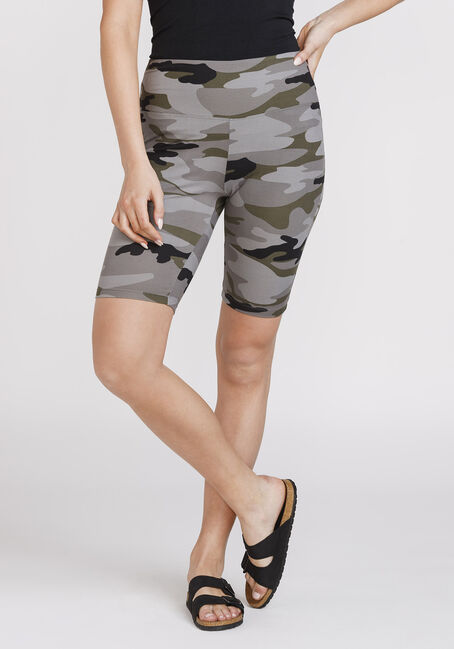 Women's Super Soft Camo Bike Short