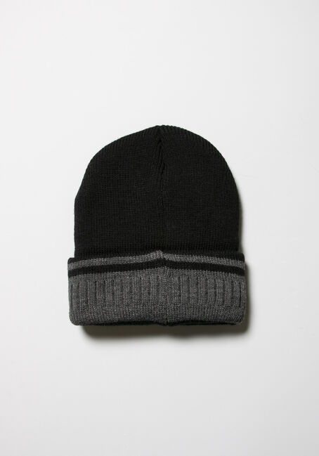 Men's Knit Hat, BLACK, hi-res