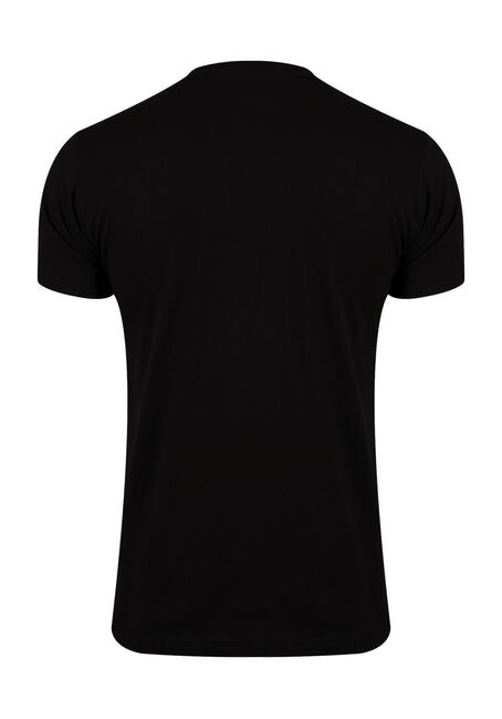 mens trick or beer tee black
