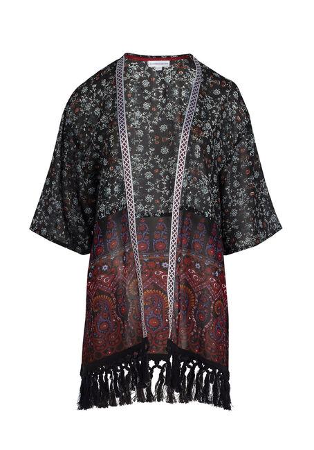 Ladies' Paisley Print Kimono