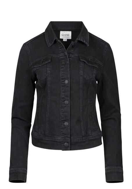 Women's Black Jean Jacket