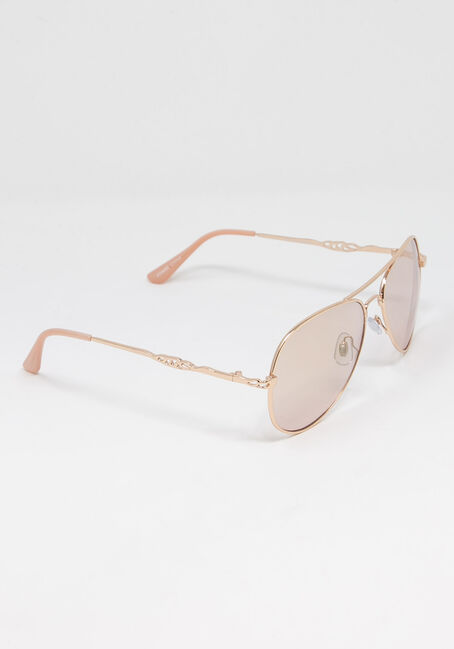 Women's Rose Gold Aviator, ROSE GOLD, hi-res