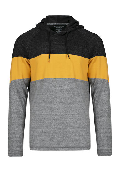 Men's Everyday Hooded Tee, MUSTARD GOLD, hi-res