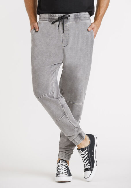 Men's French Terry Moto Jogger
