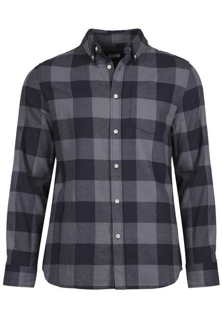 Men's Buffalo Plaid Flannel Shirt