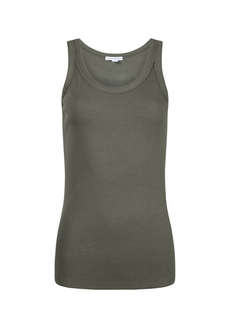 Women's Rib Knit Tank Top