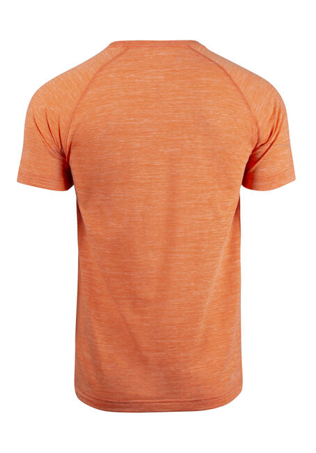 Men's Everyday Crew Neck Tee, BRIGHT ORANGE, hi-res
