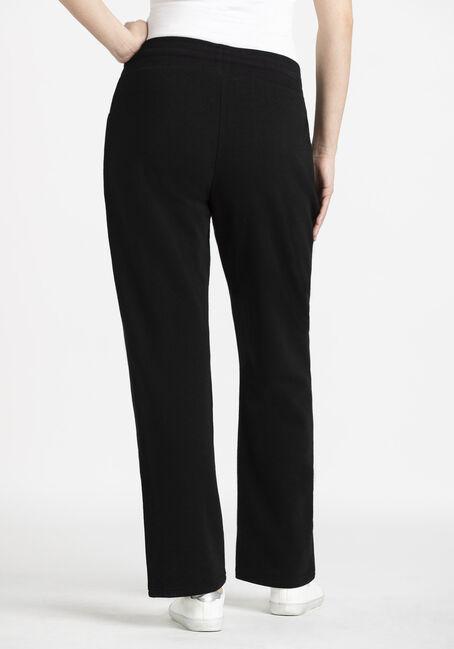 Women's Fleece Pant, BLACK, hi-res