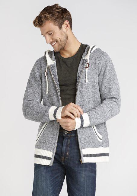 Men's Zip Up Cabin Sweater