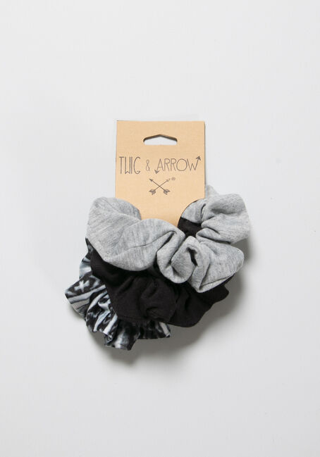 Women's Scrunchy Set, MULTI, hi-res