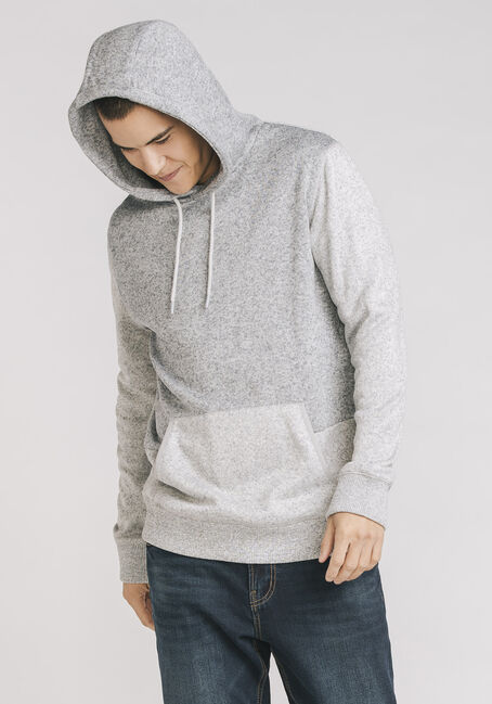 Men's Super Soft Pop Over Hoodie, LIGHT GREY, hi-res