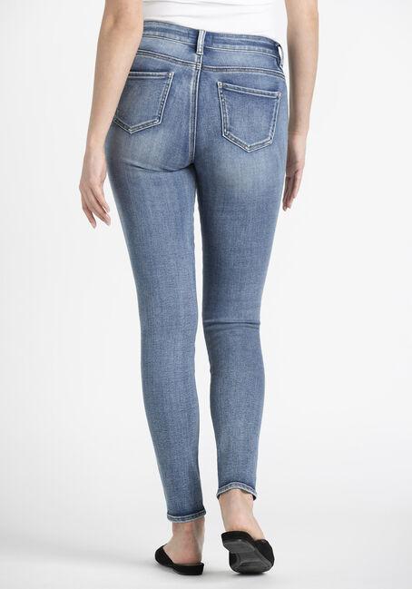 Women's Skinny Jeans, MEDIUM WASH, hi-res