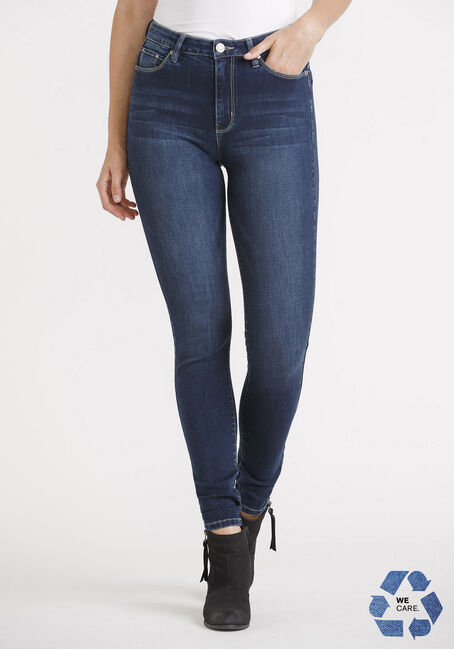 Women's Power Sculpt High Rise Skinny Jeans