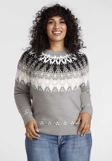 Women' Fairisle Crewneck