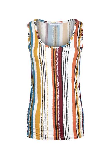 Women's Striped Super Soft Tank, MULTI, hi-res