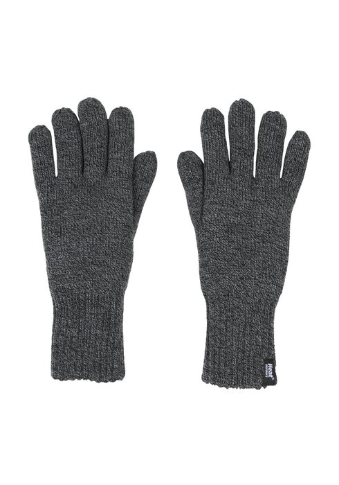 Men's Thermal Gloves, GREY, hi-res