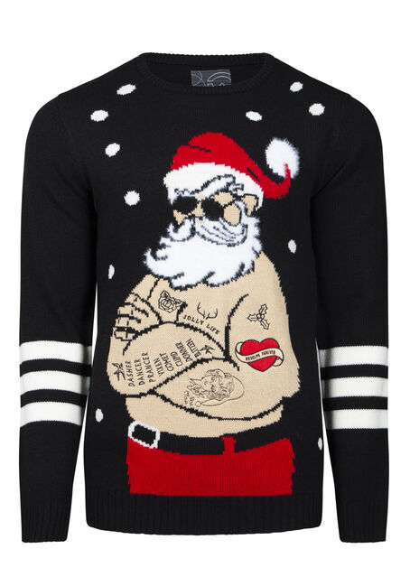 Men's Musical Santa Sweater
