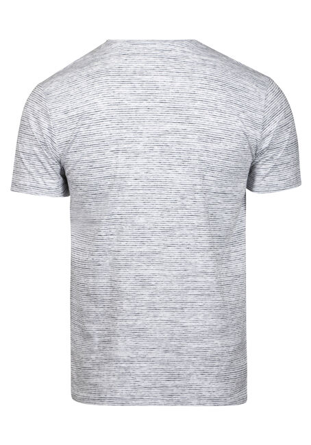 Men's Everyday Mini Stripe Tee, WHITE, hi-res