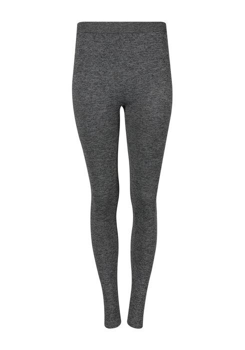 Women's Floral Side Legging, CHARCOAL, hi-res