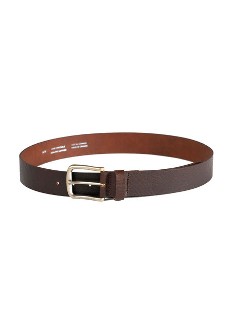 Men's Basic Leather Belt