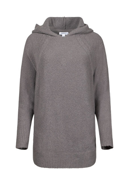 Women's Hooded Tunic Sweater