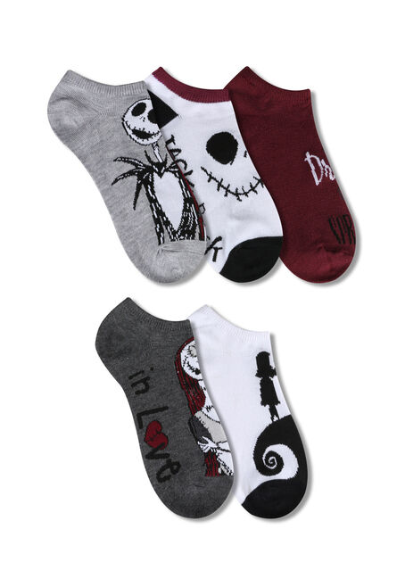 Ladies' 5 Pair Nightmare Socks