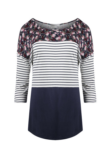 Ladies' Colour Block Top