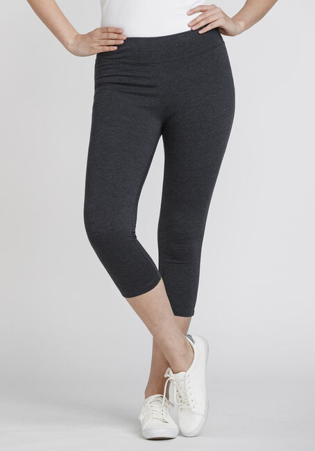Women's Wide Waistband Capri Legging