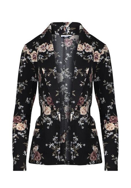Women's Floral Blazer