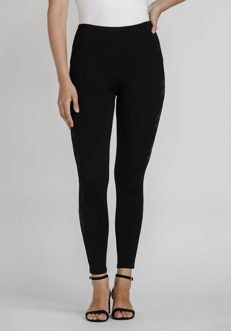 Women's Lace Insert Legging