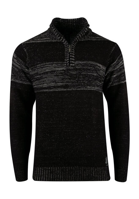 Men's Chest Stripe Sweater