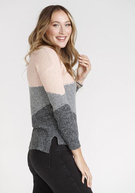Womens' Colour Block Sweater
