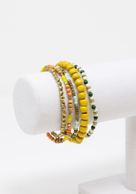 Women's 5 Pair Bracelet Set