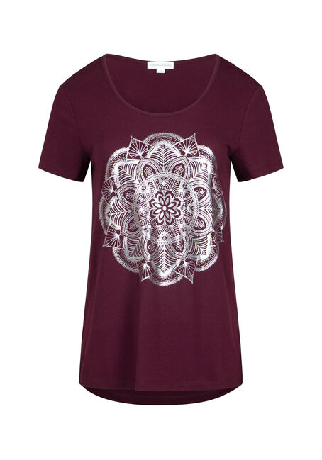 Women's Mandala Scoop Neck Tee